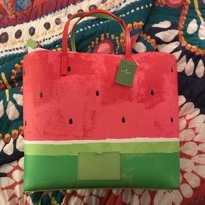 Kate Spade Watermelon Tote NWT